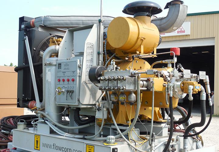 55K Waterjet Abrasive Cutting