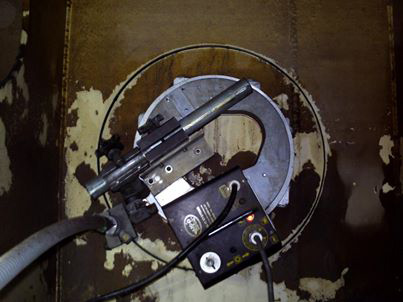 Circular Abrasive Cutting